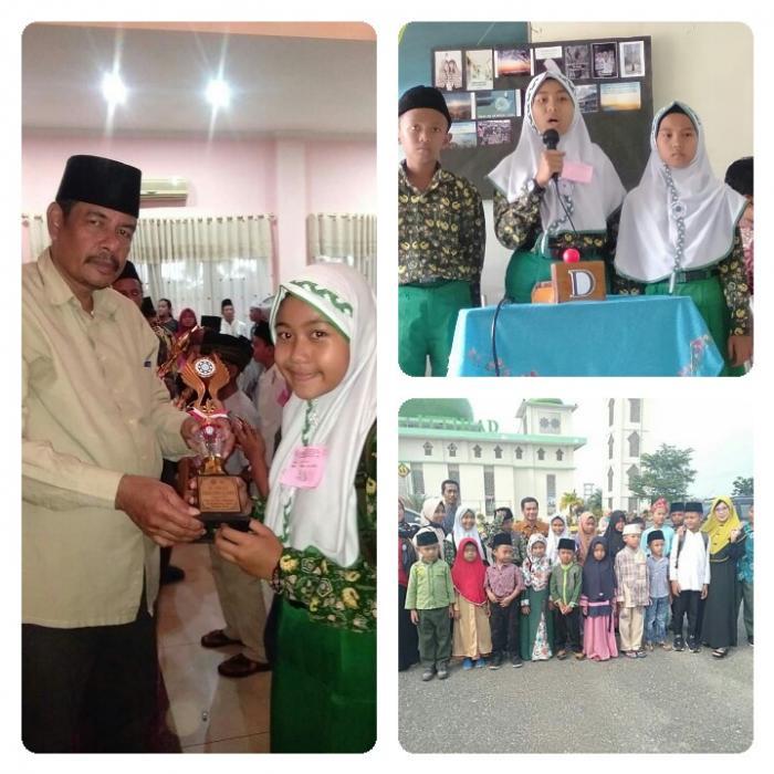 MIN 3 TEBO BERHASIL MEMBOYONG JUARA DALAM LOMBA FASI (FESTIVAL ANAK SOLEH INDONESIA) TINGKAT KABUPATEN TEBO